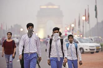 Diseases caused by pollution account for about one-in-six deaths worldwide. Photo: HT