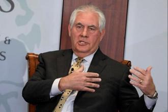 A file photo of US secretary of state Rex Tillerson. Photo: Reuters