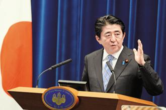 A cabinet reshuffle, North Korean missile launches over Japan helped Shinzo Abe, giving him a window to secure a fresh mandate that could end up making him Japan's longest serving prime minister. Photo: Bloomberg