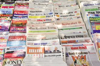 Today, people have a greater range of expectations from the media. Photo: Mint