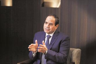 Egyptian President Abdel-Fattah El-Sisi. Photo: Bloomberg