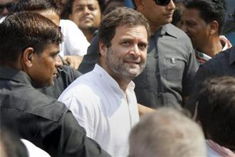 A file photo of Congress vice president Rahul Gandhi. Photo: PTI
