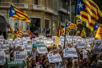 The Catalan crisis has raised fears among European countries that it could spill over to the rest of the continent. Photo: Bloomberg