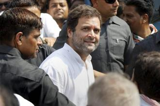A file photo of Congress vice-president Rahul Gandhi. Photo: PTI