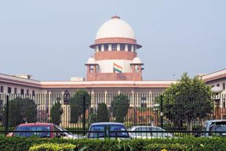 The Supreme Court said the centre has to take a call—uninfluenced by the top court's earlier order—on the playing of national anthem in theatres. Photo: HT
