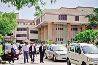 The court was hearing a plea over an alleged assault on the dean and some professors of DU's Law Faculty by some students last year. Photo: Mint