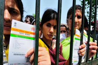 Petitioners in the Supreme Court have challenged the government's move to make Aadhaar mandatory for government schemes as well linking it with mobile numbers and bank accounts. Photo: Priyanka Parashar/Mint