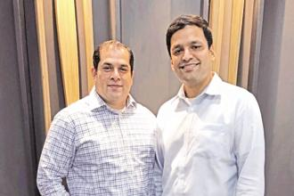 Former InnoVen executives Ajay Hattangdi and Vinod Murali.