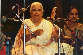 The Purab Ang style of music became synonymous with Girija Devi. Photo: HT