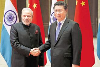 A file photo of PM Narendra Modi and China's President Xi Jinping. Photo: Reuters