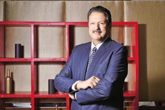 Ajay Piramal, chairman of Shriram Group. With Shriram Capital valued at Rs16,000 crore and IDFC's market cap at Rs10,000 crore, IDFC shareholders will hold 38% stake in the merged entity while the rest will go to Shriram shareholders. Photo: Aniruddha Chowdhury/Mint