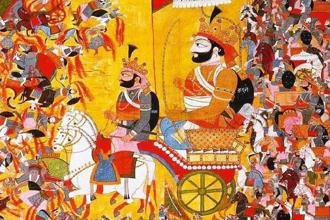 The Mahabharat shows that a ruler can never shun violence. Wikimedia Commons