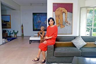 Priya Jhaveri, co-founder, Jhaveri Contemporary Gallery. Photo: Abhijit Bhatlekar/Mint