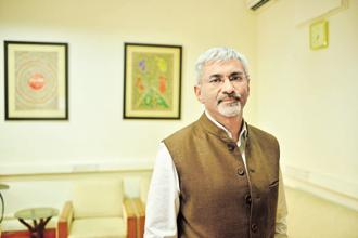 IDFC Bank CEO Rajiv Lall. The exclusive negotiation period for the proposed IDFC-Shriram merger, stuck due to a valuation issue, is ending on 8 November. Photo: Pradeep Gaur/Mint