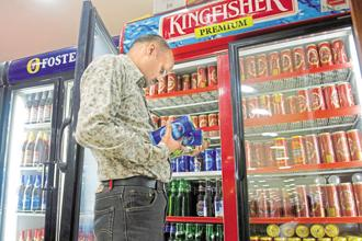 Sales volumes at liquor firms in India have already been hit over the past year by various policy changes. Photo: HT