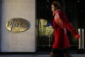 Pfizer's third-quarter profit more than doubled as strength in newer drugs to treat cancer and other illnesses offset the hit from patent expirations. Photo: AP