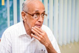 R. Thyagarajan says Shriram Group is not desperately dependent on any deal with anyone. Photo: Nathan G./Mint