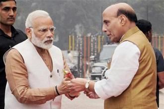 Prime Minister Narendra Modi is the Inter-State Council chairman and six Union ministers, including Rajnath Singh, and all chief ministers are its members. Photo: PTI
