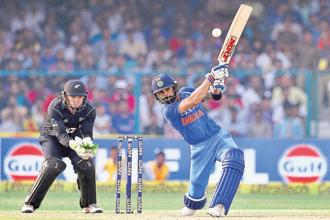 Virat Kohli scored two centuries in three matches of the recent ODI series against New Zealand. Photo: AP