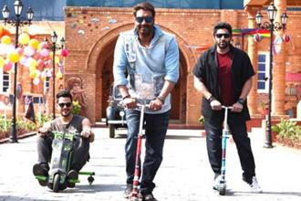 A still from 'Golmaal Again'.