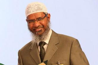 A file photo of Islamic preacher Zakir Naik. Photo: AFP
