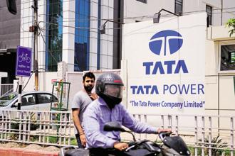Tata Power's income from its power business fell about 7% to Rs1,035 crore for the quarter. Photo: Mint