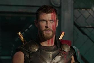 Chris Hemsworth in a still from 'Thor: Ragnarok'.