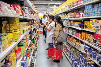 The retail sector seems to be recovering from demonetisation and GST, as visible in the second quarter results of the leading FMCG firms. Photo: Indranil Bhoumik/Mint