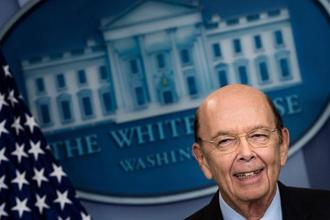 US commerce secretary Wilbur Ross. Photo: AFP