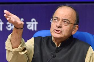 Finance minister Arun Jaitley says the previous Congress government under Manmohan Singh never took any such big step against black money. Photo: