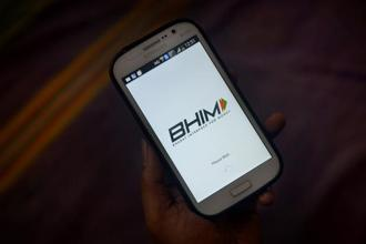 From 0.1 million transactions worth Rs49 crore just before demonetisation, UPI BHIM completed 76.7 million transactions a month worth Rs7,057 crore, and is on track to cross 100 million by the end of November. Photo: Abhijit Bhatlekar/Mint