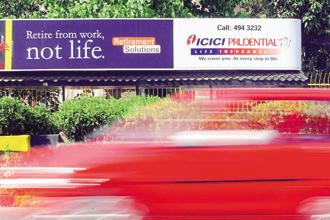 ICICI Prudential, whose assets under management grew about 16% in that period and now total Rs1.3 trillion, increased its exposure to the telecom sector by 80 basis points to 7.3%, even as other mutual funds cut their exposures. Photo: Reuters
