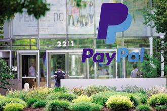 Both customers and merchants will be able to use the PayPal platform within India. Photo: Bloomberg