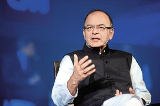 Finance minister Arun Jaitley. The PSU bank recapitalisation plan, while essential, cannot suffice to revive the Indian economy in time for any electoral dividend. Photo: Hemant Mishra/Mint
