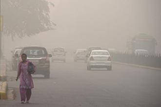 On Thursday evening, the air quality index of the Delhi and national capital region (NCR) centred on it was 470, which is in the severe category. Photo: AP