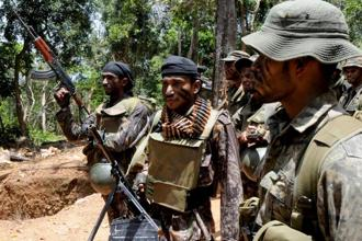 Sri Lankan government forces were accused of targeting civilians during the civil war, which is considered a war crime under international law. Photo: AFP