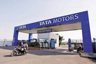 During the September quarter, Tata Motors share price fell 7.23% to Rs401.25 on the Bombay Stock Exchange. Photo: Reuters