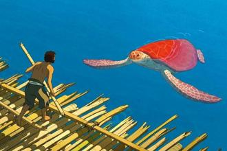 'The Red Turtle' seems to equate the lover with nature itself.