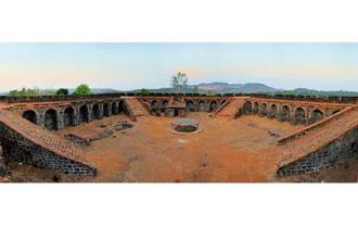 The fort at Corjuem. Photo: Alamy