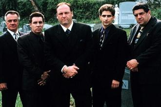A still from The Sopranos. Photo: Courtesy HBO