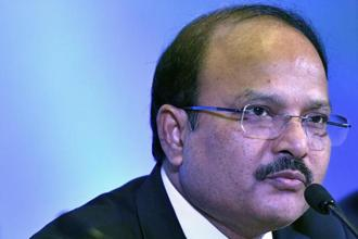 A file photo of ONGC chairman and managing director Shashi Shanker. Photo: Bloomberg