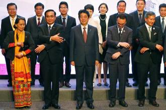 Delegates at the Asean summit in Manila on Monday. Photo: AP