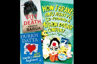 Juggernaut's City of Death by Abheek Barua, Penguin's World's Best Boyfriend by Durjoy Dutta and Rupa's How I Braved Anu Aunty & Co-Founded a Million Dollar Company by Varun Aggarwal.