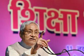 Nitish Kumar's JD(U) was part of the Grand Alliance which included the RJD and fought the last Bihar assembly polls on a common plank. Photo: PTI