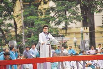 Abhishek Banerjee, Mamata Banerjee's nephew and Lok Sabha MP, has written to trademark authorities saying he was withdrawing his claim to the Biswa Bangla trademark. Photo: Indranil Bhoumik