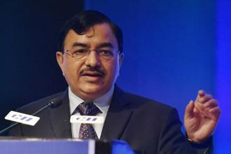 Sushil Chandra, chairman of the Central Board of Direct Taxes (CBDT). Photo: PTI