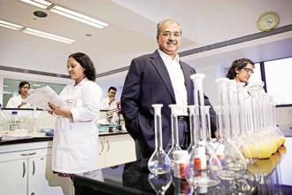Sun Pharma MD Dilip Shanghvi said a challenging US generic drug pricing environment coupled with investments in building the firm's global specialty business affected Q2 performance. Photo: Bloomberg