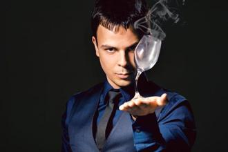The Russian illusionist, Alexander Magu. Photo: Alexander Magu