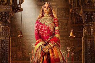 Actress Deepika Padukone in a still from director Sanjay Leela Bhansali's 'Padmavati'.