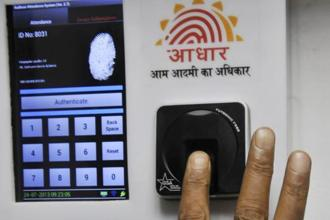Some departments and implementing agencies were asking NRIs/OCIs/PIOs to submit or link their Aadhaar for availing services and benefits, despite the fact that they were not entitled for the 12-digit biometric identifier. Photo: HT